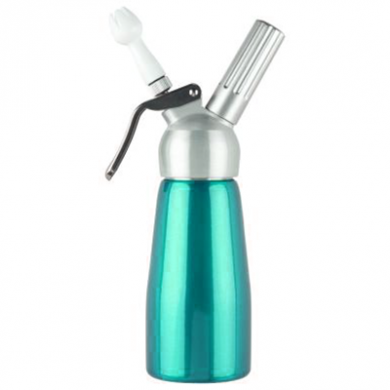 Cream Whipper - 0.25 Litre (Metal Head) - NEW Turquoise