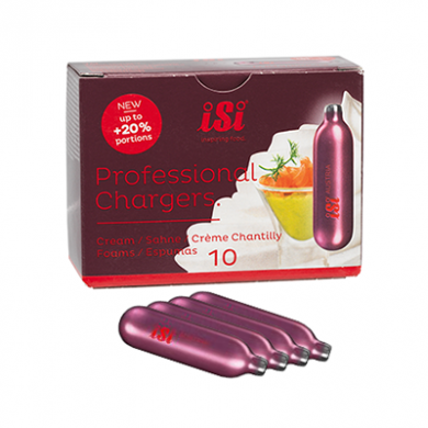 Cream Chargers ISI Pro N2O - Pack of   100