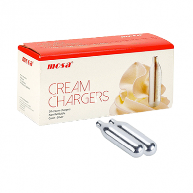 Mosa Cream Chargers - Pack of 2 x 24s (48)