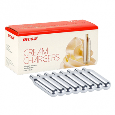 Mosa Cream Chargers - Pack of 8 x 24s (192)